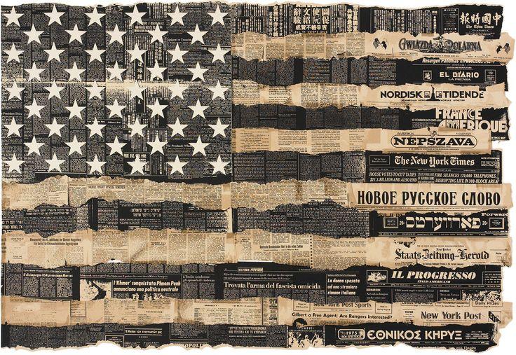 Bicentennial Poster U.S.A. screenprint on paper by Massimo Vignelli, 1976