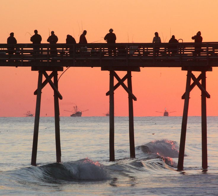 124 best images about sunsational moments on pinterest for Bogue inlet fishing pier emerald isle nc