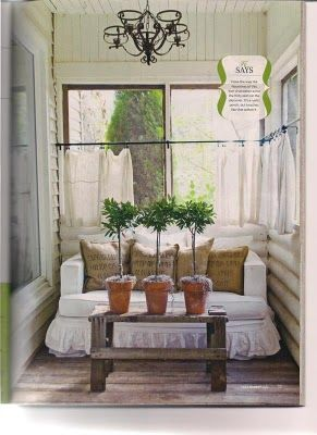 Cozy: Spaces, Sweet, Decorating Sunrooms, Fleamarketstyle, Flea Markets, Porches Sunrooms, Design, Flea Market Style