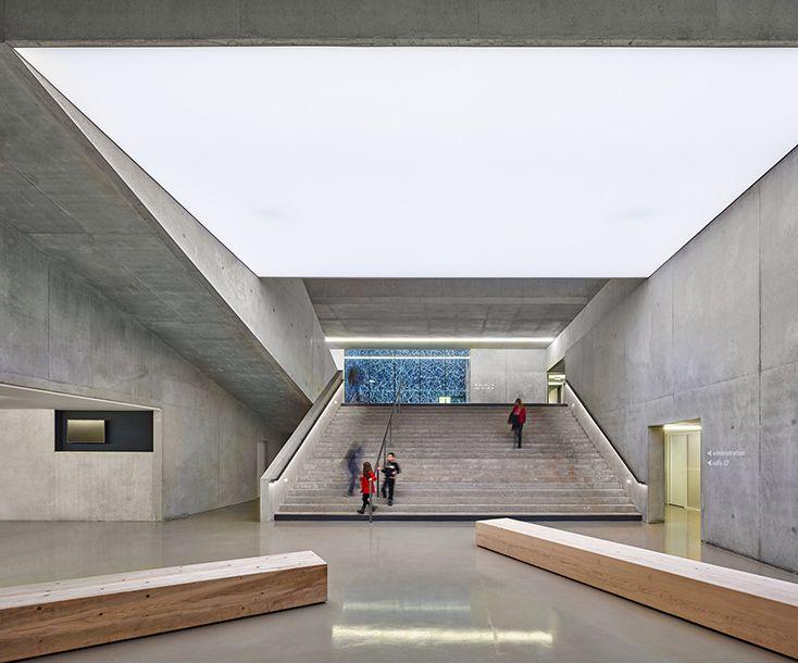 Dominique Coulon & Associés : Conservatoire Henri Dutilleux - ArchiDesignClub by MUUUZ - Architecture & Design