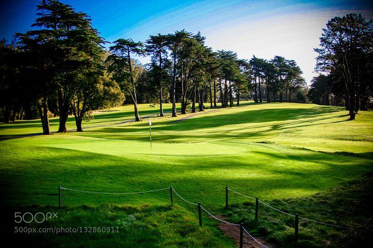 Presidio golf course by jgtwomey