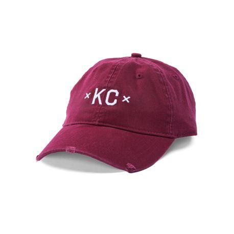 Made Urban Apparel Maroon KC Dad Hat