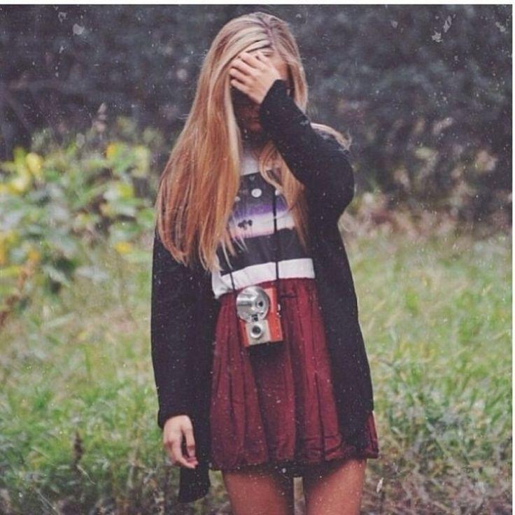 5. #Tricoter, réservoir et jupe #taille haute - 22 #Brandy Melville #cherche #Inspiration de la #mode... → #Fashion