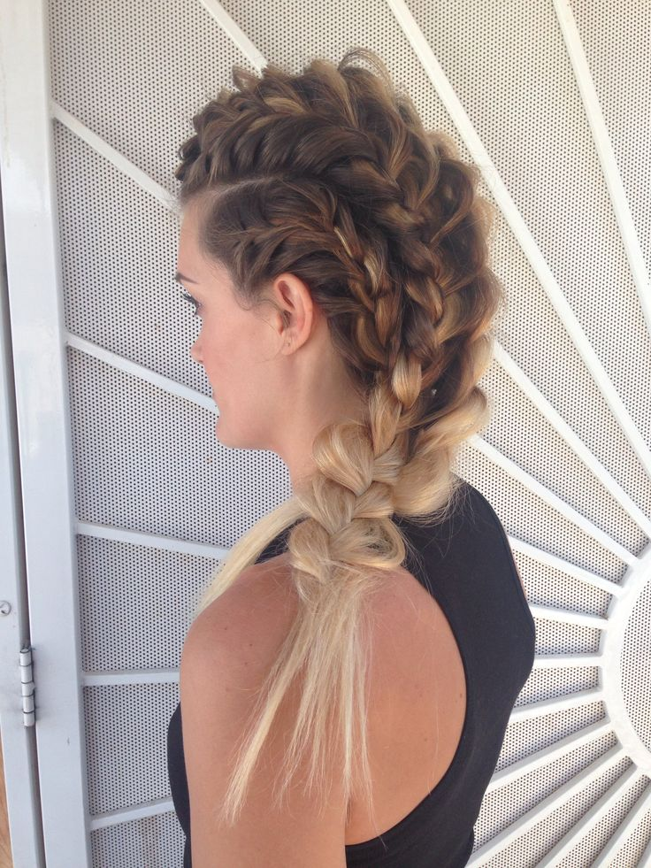 Beachy warrior braids