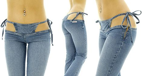 You know how you just can't unsee some things: We present: bikini pants.