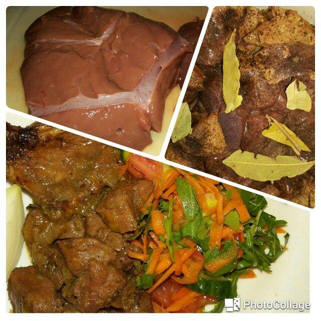 Orgaanvlees. Waarom? Kijk voor het recept op mijn blog shazarifah.nl