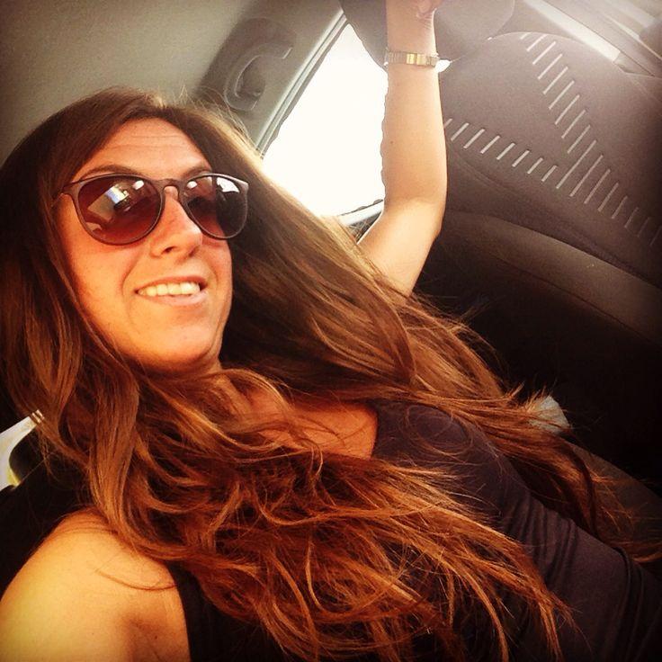 #summer #hair #capellilunghi #nature