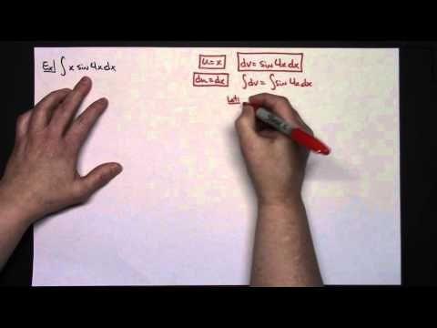 Integration by Parts - Calculus uv-vdu #Integrals
