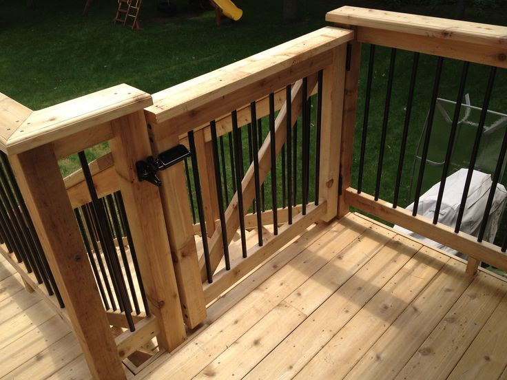 15 best images about new deck on pinterest back deck for Porch gate plans