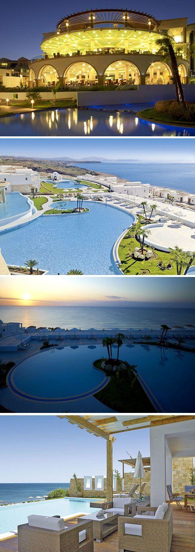 Atrium Prestige Thalasso Spa Resort ligt in de ongerepte natuur in het zuiden van Rhodos. Vanuit het vijfsterren hotel heb een prachtige panoramisch uitzicht over de zee en de omgeving. Geniet van de Griekse zon aan een van de zwembaden, maak gebruik van de vele sportfaciliteiten of neem plaats op het direct aan het hotel grenzende strand.