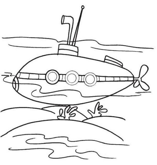 Free Submarines Coloring Pages Coloring Pages Submarines