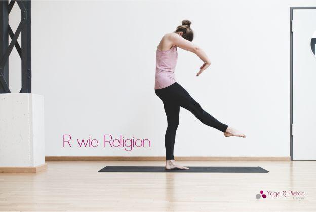 R wie Religion:  Die Wurzeln des Yoga liegen zwar im Hinduismus und Buddhismus, allerdings wird Yoga von den unterschiedlichsten Menschen mit diversen Religionen praktiziert. Der frühere Gedanke Yoga zu praktizieren um dem spirituellen Ziel der Erleuchtung zu folgen, ist heute bei den meisten Personen unseres Kulturkreises gewichen. Es lassen sich aber auch in der Lehre einige Parallelen zu den Geboten anderer Religionen wie dem Christentum oder dem Islam feststellen. Yoga an sich ist…