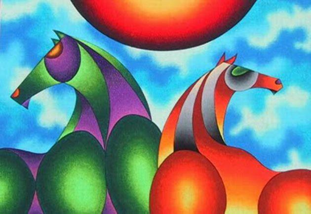 PINTORES LATINOAMERICANOS-JUAN CARLOS BOVERI: Pintores Bolivianos: MAMANI MAMANI