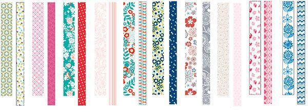 Washi tape designs on Behance