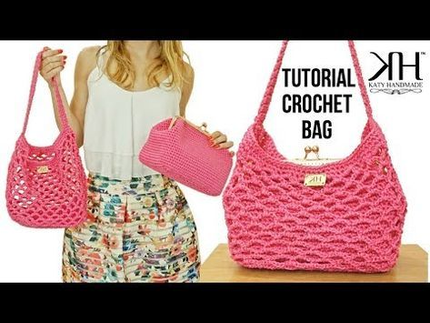 Tutorial Borsa Uncinetto Kloe Borsa A Rete Crochet Katy