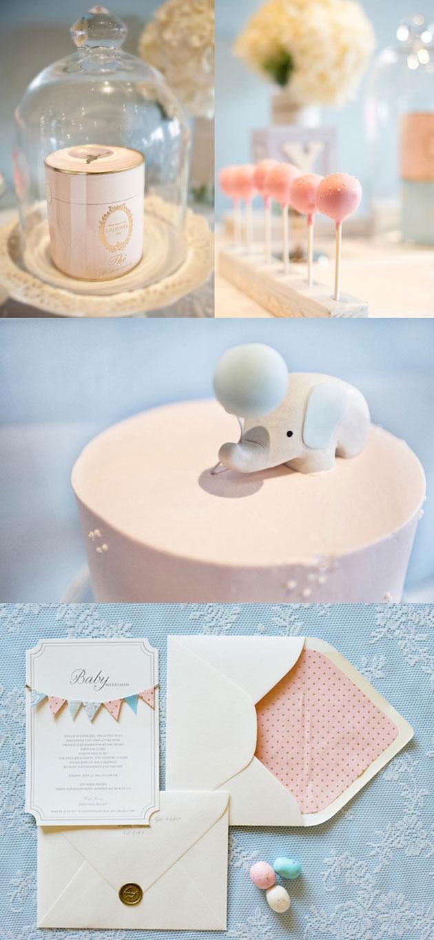 Une Baby Shower élégante