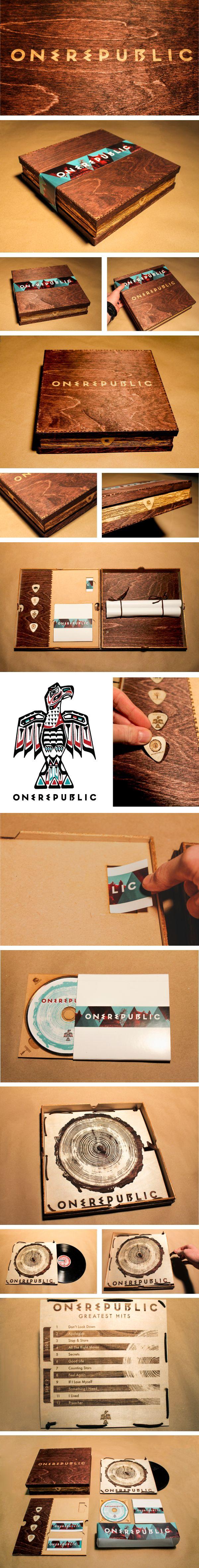 *O* OneRepublic Special Edition Album by Jordan Anderson, via Behance OMG I want it!!!