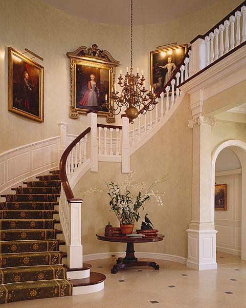 Beautiful Front Hall And Staircase: 195 Best Entry Foyer & Stairs