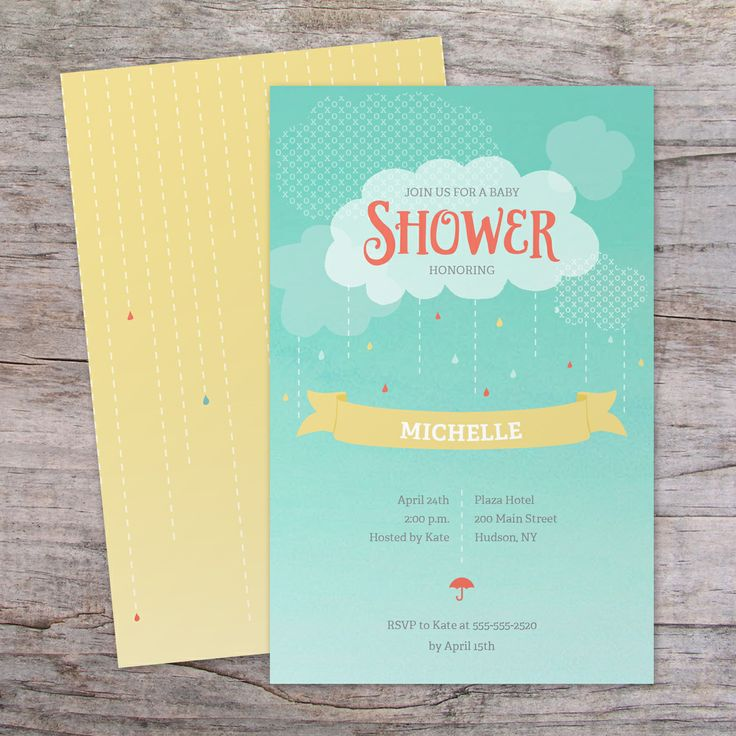 Baby Shower Invitation | Vistaprint