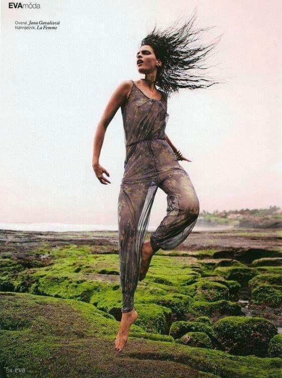 Jana Gavalcova fashion designer / magazin EVA / photo Martin Machaj