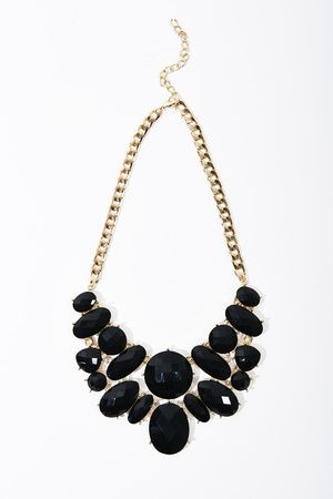 Black statement necklace #ccstyle my birthday is in August. So thanks I will take this