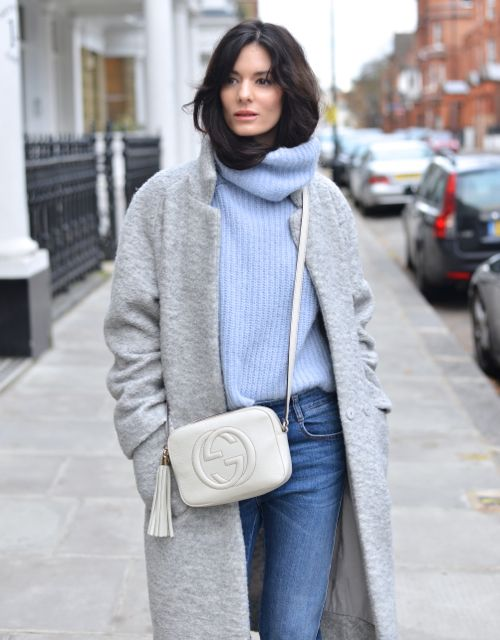 blue & grey. Hedvig in London. #TheNorthernLight