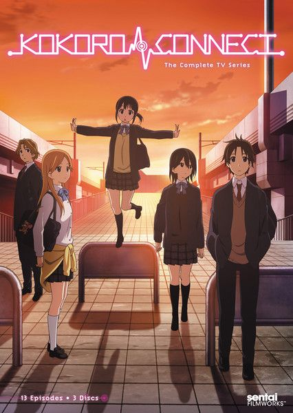 Kokoro Connect TV DVD, Right Stuf.com, Ebay and Amazon.com