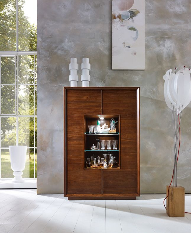 Bar Cabinet LEONARDO designed by Tiziano Bistaffa