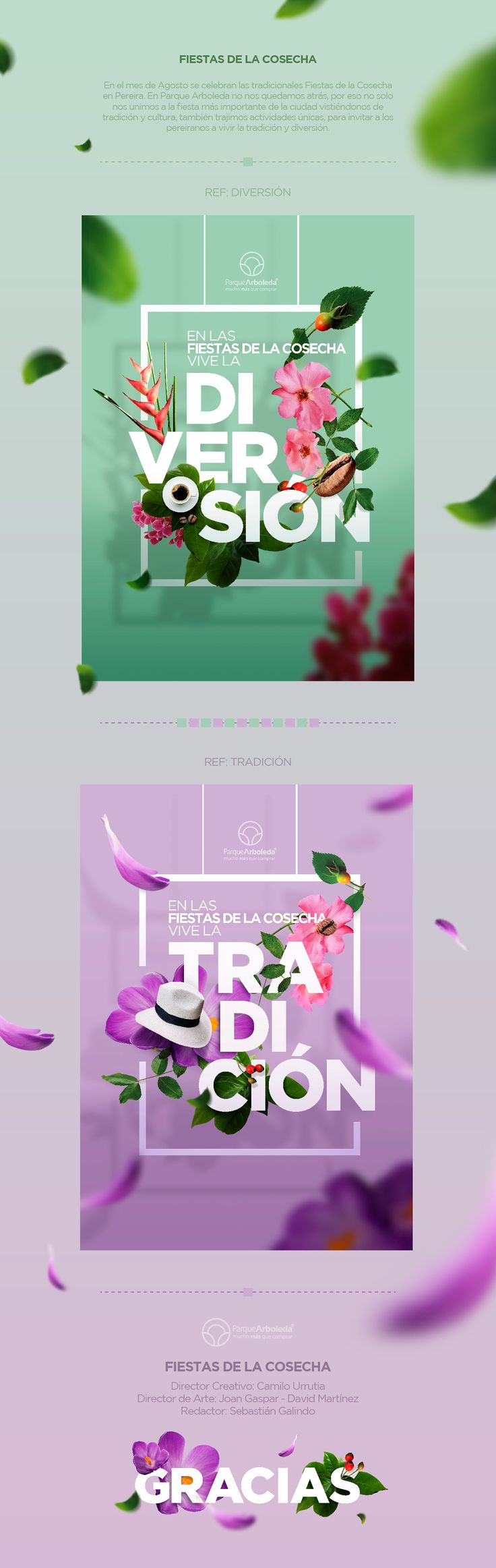 Fiestas de la Cosecha on Behance