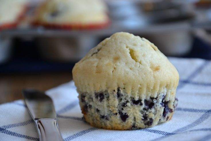 Sugar-Free Blueberry Lemon Muffins (and Gluten-Free)