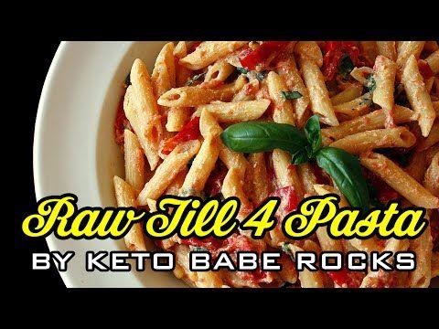 Raw Till 4 Recipe - Freelee the Banana Girl's Famous Vegan Pasta - YouTube