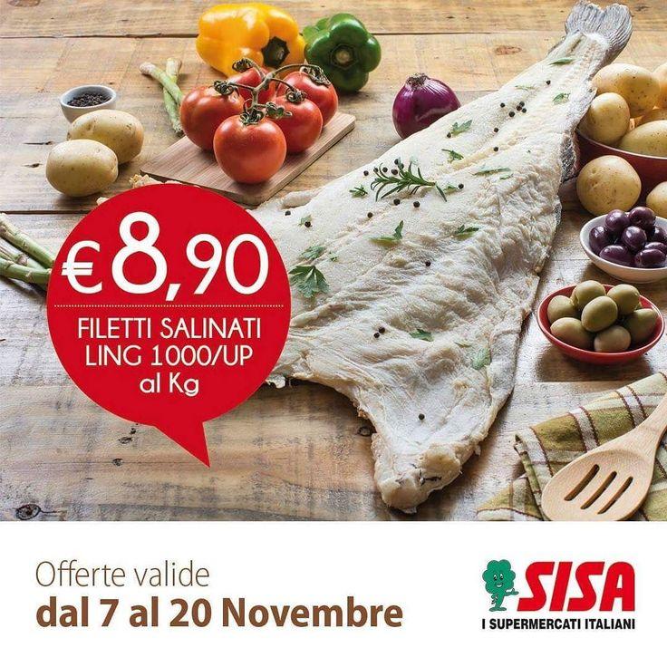 #SISAofferte Il venerdì si mangia pesce!    OFFERTE www.sisacentrosud.it  #SISAsupermercati #andria #benevento #avellino #caserta #TorreAnnunziata #sorrento #nola #nocera #pagani #portici #bari #lecce #offerte #marcianise #puglia #basilicata #food #amalfi