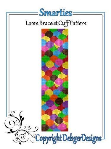Smarties - Loom Bracelet Cuff Pattern