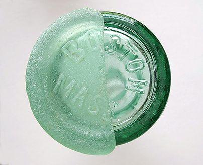 Coke bottle bottom