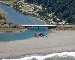 Oregon:  Turtle Rock Resort and RV Park is located in sunny Gold Beach, Oregon on the spectacular southern Oregon Coast.