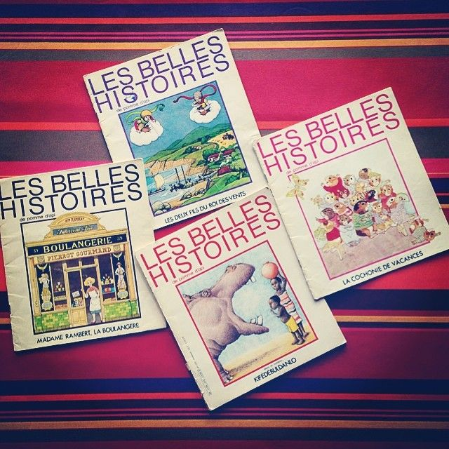 Les Belles Histoires #pommedapi #goodoldtime #books #instamoment #picoftheday #tofs
