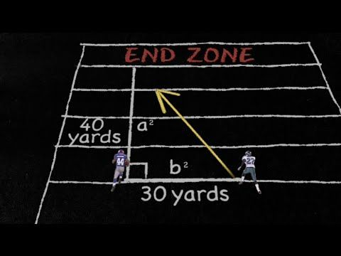 The Pythagorean Theorem - Science of NFL Football