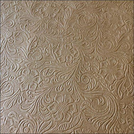 Papel Mais Artes - Scrapbook & Personalizados - Papel Kraft Textura - FLORAL 300g
