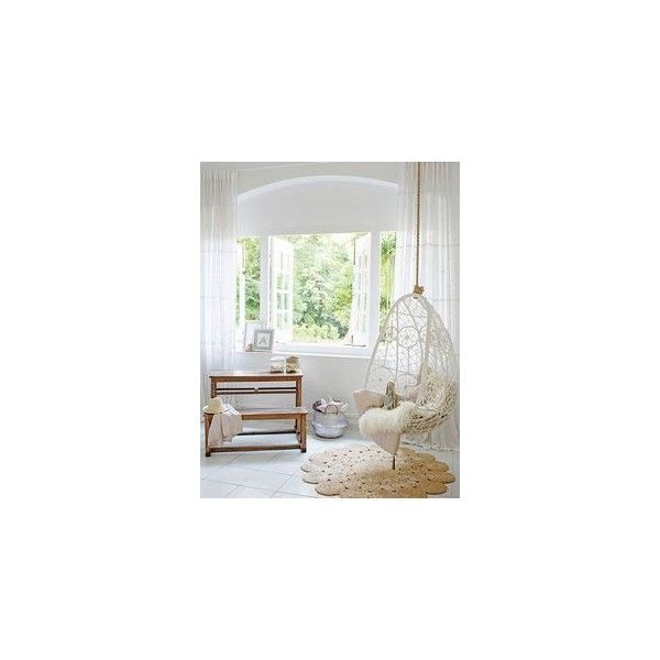 Indoor hanging chairs ❤ liked on Polyvore featuring home, furniture, chairs and accent chairs