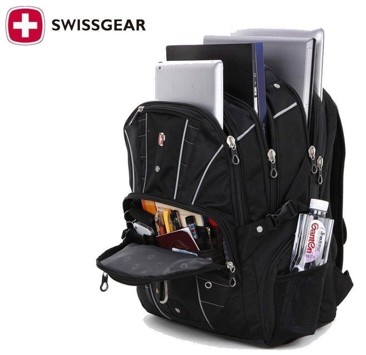 "OLAMICH wenger Swiss Gear17"" Men Travel Bags Macbook laptop hike backpack 7110"