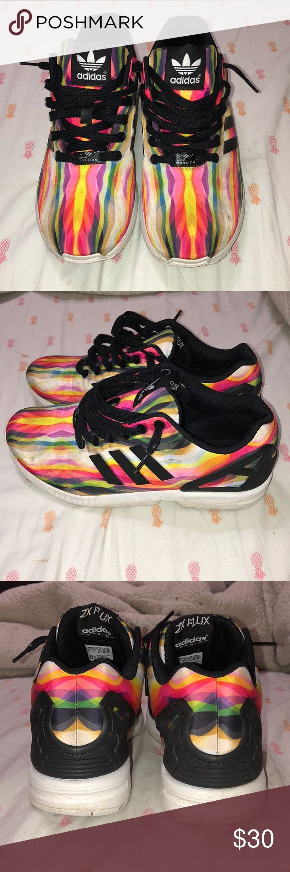 Adidas Torsion ZX Flux Size 9 Great condition. Please make an offer! adidas Shoes Sneakers