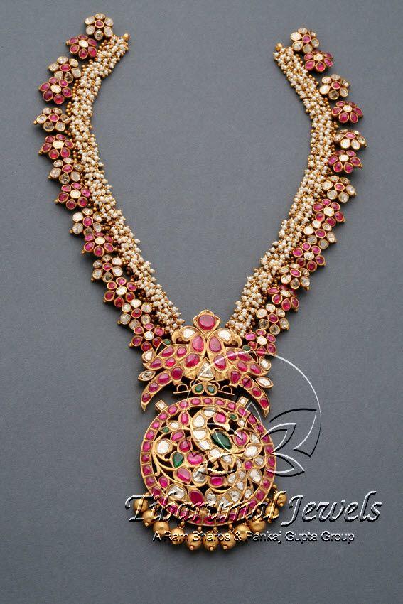 Kundan Necklace Set | Tibarumal Jewels | Jewellers of Gems, Pearls, Diamonds, and Precious Stones