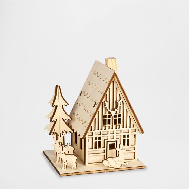 23 best swiss chalet christmas decoration images on for Zara home christmas decorations