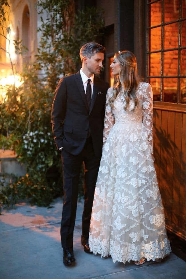 Inside A New York Wedding Where The Bride Wore Three Valentino
