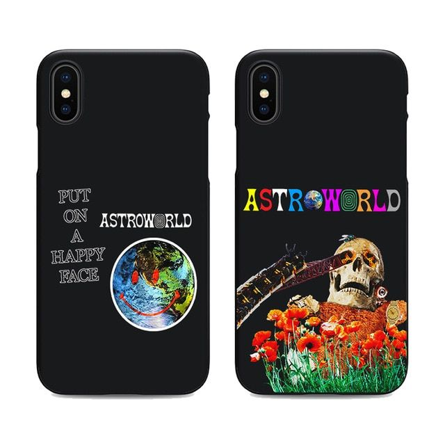 170004370c43 travis scott phone cases astroworld sicko mode for iPhone X 6 7 8 plus 5 5s  6s se for Apple soft Silicone black cover Review