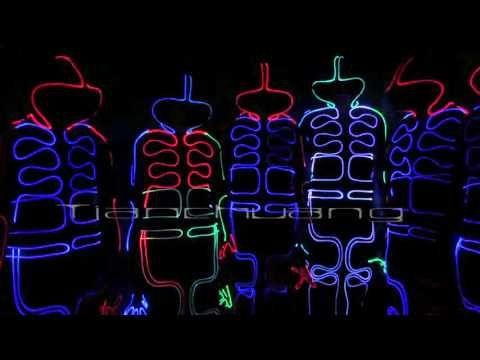 Tianchuang LED light Up Fiber optic Jumpsuits
