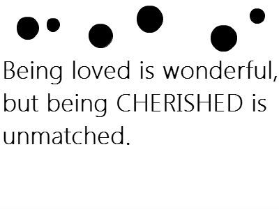 Cherished #quote