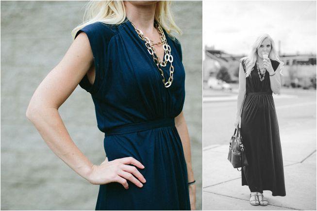 lengthen the too-short maxi dress || tutorial