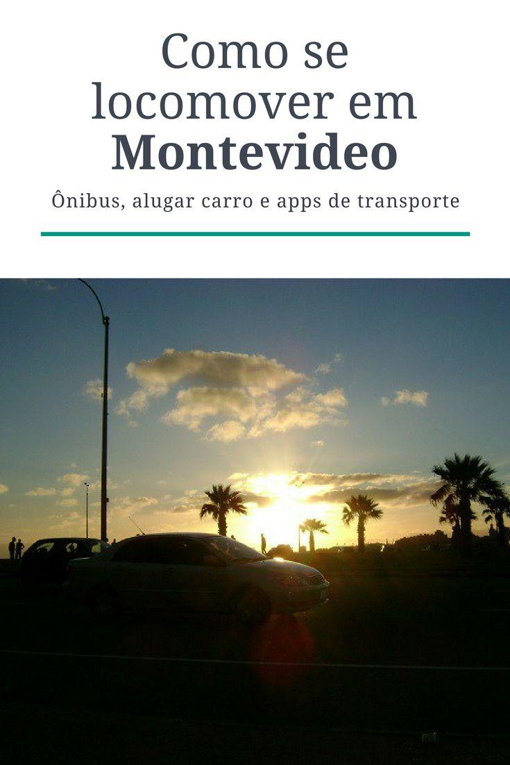 Como se locomover em Montevideo: ônibus, aluguel de carros e apps de transporte.