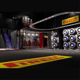 Pirelli Tyres Shopping Experience Shop Concept by Alessandro Luciani